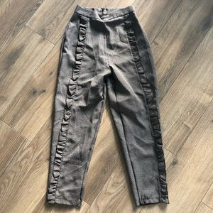 LF Straight Leg Plaid Pants